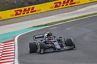 9th October 2021; Formula 1 Turkish Grand Prix 2021 Qualifying sessions at the Istanbul Park Circuit, Istanbul;   10 GASLY Pierre fra, Scuderia AlphaTauri Honda AT02