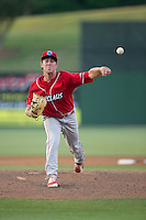 Lakewood BlueClaws starting pitcher Tyler Gilbert (21) in action against the Kannapolis Intimidators at Kannapolis Intimidators Stadium on May 10, 2016 in Kannapolis, North Carolina.  The BlueClaws defeated the Intimidators 5-3.  (Brian Westerholt/Four Seam Images)