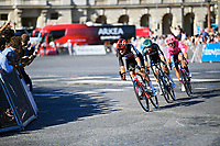 18th July 2021; Paris, France;  VAN MOER Brent (BEL) of LOTTO SOUDAL during stage 21 of the 108th edition of the 2021 Tour de France cycling race, the stage of 108,4 kms between Chatou and finish at the Champs Elysees in Paris.