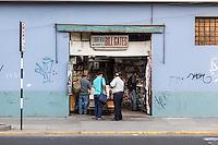 Peru, Lima.  Bill Gates Book and Stationery Shop.
