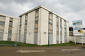 Empty blocks scheduled for demolition on Home Housing's Rayners Lane Estate, Harrow.