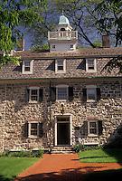 AJ3436, Bethlehem, moravian, Pennsylvania, The Bell House at the Moravian Museum in Bethlehem in the state of Pennsylvania.