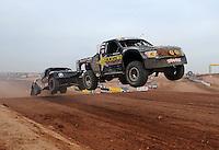 Mar. 19, 2011; Chandler, AZ, USA;  LOORRS pro two driver Rob MacCachren during round one at Firebird International Raceway. Mandatory Credit: Mark J. Rebilas-US PRESSWIRE