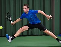 Rotterdam, The Netherlands, 07.03.2014. NOJK ,National Indoor Juniors Championships of 2014, <br /> Photo:Tennisimages/Henk Koster