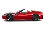 Driver's side profile view of a 2014 Ferrari California Convertible