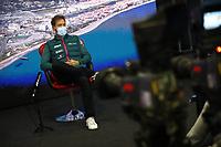 23rd September 2021; Sochi, Russia;   F1 Grand Prix of Russia 5 Sebastian Vettel GER, Aston Martin Cognizant F1 Team, F1 Grand Prix of Russia at Sochi Autodrom
