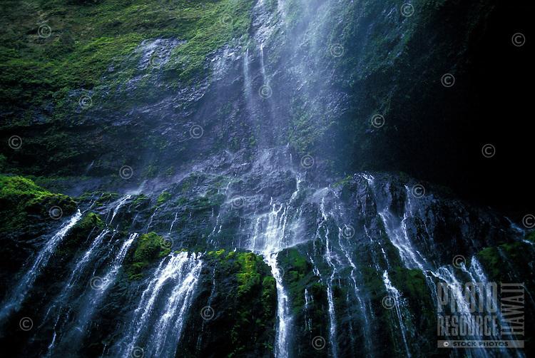 Waialeale waterfall, wettest spot on earth, Kauai