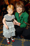 Sue Dewhurst and her granddaughter Sarah at the Houston Symphony League's annual Magical Musical Morning event at the Houstonian Saturday Dec. 12,2009.(Dave Rossman/For the Chronicle)