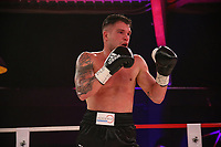 19th December 2020, Hamburg, Germany; Universal Boxing Promotion fight, Felix Sturm versus Timo Rost; Sturm comes forward