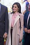 Queen Letizia during his visit to FITUR 2017 at IFEMA in Madrid, Spain. January 18, 2017. (ALTERPHOTOS/BorjaB.Hojas)