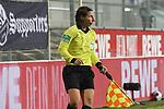 Linienrichterin Katrin Rafalski  beim Spiel in der 2. Bundesliga, SV Sandhausen - Eintracht Braunschweig.<br /> <br /> Foto © PIX-Sportfotos *** Foto ist honorarpflichtig! *** Auf Anfrage in hoeherer Qualitaet/Aufloesung. Belegexemplar erbeten. Veroeffentlichung ausschliesslich fuer journalistisch-publizistische Zwecke. For editorial use only. For editorial use only. DFL regulations prohibit any use of photographs as image sequences and/or quasi-video.