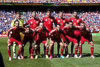Spain vs El Salvador, June 7, 2014