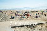 Large crowds on Banna beach on Sunday