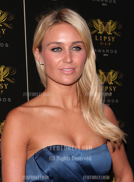 Alex Gerrard arriving for the Lipsy Fashion Awards,  at Dstrkt, London. 29/05/2013 Picture by: Alexandra Glen / Featureflash