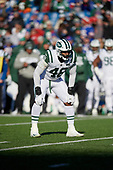New York Jets Jordan Jenkins (48) during an NFL football game against the Buffalo Bills, Sunday, December 9, 2018, in Orchard Park, N.Y.  (Mike Janes Photography)
