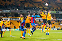 30th October 2020; Molineux Stadium, Wolverhampton, West Midlands, England; English Premier League Football, Wolverhampton Wanderers versus Crystal Palace; Wolverhampton Wanderers and Crystal Palace get readyfor a corner kick