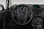 Car pictures of steering wheel view of a 2017 Ford Fiesta SE 4 Door Sedan Steering Wheel
