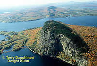 KN01-028z  Mt. Kineo on Moosehead Lake, Maine  ©Terry Dauphinee/Dwight Kuhn