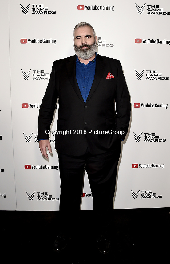 LOS ANGELES - DECEMBER 6: Benjamin Byron Davis attends the 2018 Game Awards at the Microsoft Theater on December 6, 2018 in Los Angeles, California. (Photo by Scott Kirkland/PictureGroup)