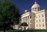 AJ4007, State Capitol, State House, Montgomery, Alabama, The State Capitol Building in the capital city of Montgomery in the state of Alabama.