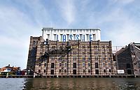 Nederland - Wormer- 2020.   Lassie fabriek aan de Zaan. In 1954 introduceerde de sinds 1894 in Wormer gevestigde Koninklijke stoomrijstpellerij Mercurius, rijst onder de merknaam Lassie op de Nederlandse markt.   Foto ANP / HH / Berlinda van Dam