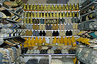 Fez, Morocco - A Shoe Store in the Old City.