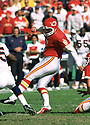 Kansas City Chiefs Morten Andersen (7) during game from his 2001 season with the Kansas City Chiefs. Morten Andersen played for 25 season with 5 different teams, was an 7-time Pro Bowler and was inducted to the Pro Fooball Hall of Fame in 2017.(SPORTPICS)
