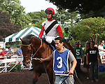 July 05 2015:  Bradester with Eddie Kenneally win the Grade III Salvator Mile Stakes for 3-year olds, going 1 mile at Monmouth Park.  Trainer Corie Lanerie. Owner Joseph Sutten. Sue Kawczynski/ESW/CSM