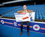 David Weir is the latest Rangers legend to be honoured with a Brick Panel created by The Rangers Youth Development Company