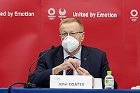 18th November 2020; Tokyo, Japan, John Coates of the IOC Organising committee speaks to press and media  media on the rescheduled 2020 Olympic Games in 2021