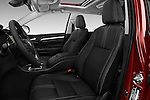 Front seat view of 2018 Toyota Highlander SE 5 Door SUV Front Seat  car photos