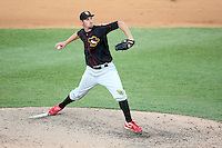 May 15, 2010: Deryk Hooker of the Quad City River Bandits at Elfstrom Stadium in Geneva, IL. The River Bandits are the Class A affiliate of the St. Louis Cardinals. Photo by: Chris Proctor/Four Seam Images