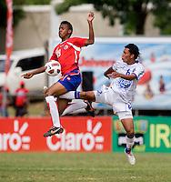 Costa Rica U-17 Men vs El Salvador Men February 18 2011