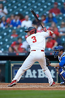 Tucker Redden (3) of the Houston Cougars at bat against the Kentucky Wildcats in game two of the 2018 Shriners Hospitals for Children College Classic at Minute Maid Park on March 2, 2018 in Houston, Texas.  The Wildcats defeated the Cougars 14-2 in 7 innings.   (Brian Westerholt/Four Seam Images)