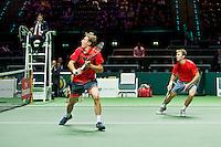 Rotterdam, The Netherlands, Februari 8, 2016,  ABNAMROWTT, Henri Kontinen (FIN) / John Peers (AUS)<br /> Photo: Tennisimages/Henk Koster