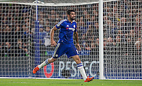 Diego Costa of Chelsea shows his frustration after a penalty appeal is turned down during the UEFA Champions League Group G match between Chelsea and Dynamo Kyiv at Stamford Bridge, London, England on 4 November 2015. Photo by Andy Rowland.