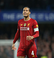 Liverpool's Virgil van Dijk<br /> <br /> Photographer Rob Newell/CameraSport<br /> <br /> The Emirates FA Cup Fifth Round - Chelsea v Liverpool - Tuesday 3rd March 2020 - Stamford Bridge - London<br />  <br /> World Copyright © 2020 CameraSport. All rights reserved. 43 Linden Ave. Countesthorpe. Leicester. England. LE8 5PG - Tel: +44 (0) 116 277 4147 - admin@camerasport.com - www.camerasport.com