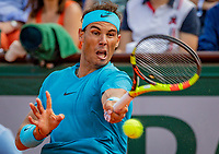 Paris, France, 02 June, 2018, Tennis, French Open, Roland Garros, Rafael Nadal (ESP)<br /> Photo: Henk Koster/tennisimages.com