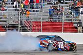 2017 NASCAR XFINITY Series - Rinnai 250<br /> Atlanta Motor Speedway, Hampton, GA USA<br /> Saturday 4 March 2017<br /> Kyle Busch, NOS Energy Drink Toyota Camry celebrates his win with a burnout<br /> World Copyright: Nigel Kinrade/LAT Images<br /> ref: Digital Image 17ATL1nk05611