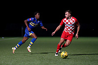 Jesse Olukolu of Romford during Romford vs Tilbury, Pitching In Isthmian League North Division Football at Mayesbrook Park on 29th September 2021