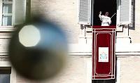 20191226 VATICANO: PAPA FRANCESCO RECITA LA PREGHIERA DELL'ANGELUS