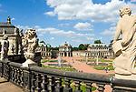 Deutschland, Freistaat Sachsen, Dresden: Zwinger, barockes Bauwerk, Wallpavillon | Germany, the Free State of Saxony, Dresden: Zwinger Palace, baroque building, Wall Pavilion