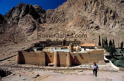 EGY, Aegypten, Sinai: St. Katharinen-Kloster | EGY, Egypt, Sinai: Saint Catherine's Monastery