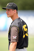 August 15, 2008: Jarek Cunningham (25) of the GCL Pirates. Photo by: Chris Proctor/Four Seam Images