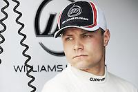 Williams Finnish Third driver Valterrri Bottas.24/03/2012 Grand Prix Malesia, Sepang , Essais..Foto Insidefoto  /Bernard Asset / Panoramic.ITALY ONLY..