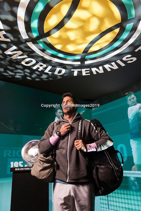 Rotterdam, The Netherlands, 14 Februari 2019, ABNAMRO World Tennis Tournament, Ahoy, Fernando Verdasco (ESP),<br /> Photo: www.tennisimages.com/Henk Koster