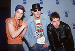 "BEASTIE BOYS - Adam""Ad-Rock"" Horovitz, Adam ""MCA"" Yauch, ""Mike D"" Diamond - at the Grammy Awards, Los Angeles , Ca Feb 24, 1987"