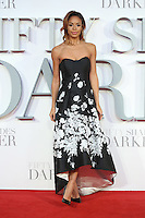 """Sarah Jane Crawford<br /> at the """"Fifty Shades Darker"""" premiere, Odeon Leicester Square, London.<br /> <br /> <br /> ©Ash Knotek  D3223  09/02/2017"""