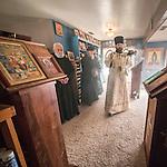 First Monastic Liturgy, St. Silhouan Monastery, Columbia, California.
