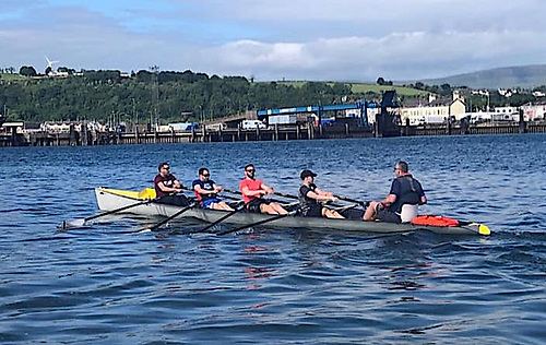 Busy Olderfleet Rowing Club Gets Teens Out on the Water at Larne
